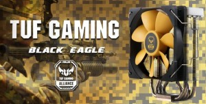 Thermalright выпустила кулер для процессора TUF Gaming Alliance Black Eagle