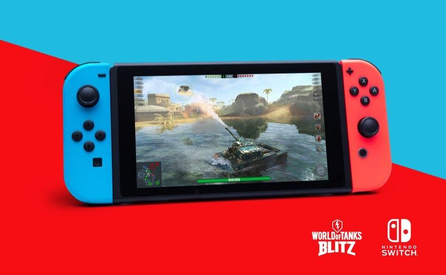 World of Tanks Blitz вышел на Nintendo Switch