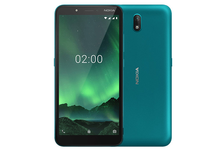 Nokia C2 Android Go Edition: смартфон с 5,7 экраном HD