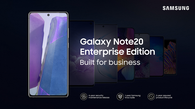 Представлены Samsung Galaxy Note20 и Galaxy Tab S7 Enterprise Edition