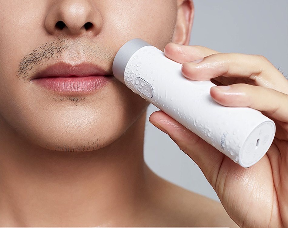 Портативная бритва Xiaomi SMATE Portable Turbine Electric Razor за $20
