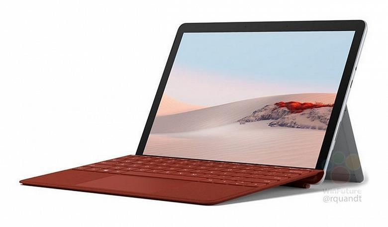 В сети появились изображения и спецификации планшета Microsoft Surface Go 2