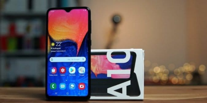 Samsung Galaxy A10s обновили до Android 10